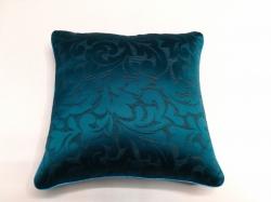 Cuscino Lumininoso Blue Jacquard FRONTE