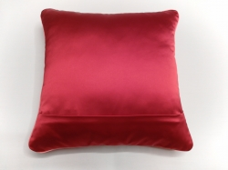 Cuscino Luminoso Rosso Luce Rossa RETRO dettaglio cerniera