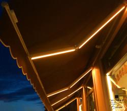 tendaled esterni illuminazione tenda da sole a led