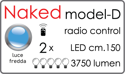 Kit Tendaled Naked model D